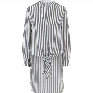 Bishop + Young Small blue striped button up tunic